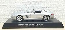 1/64 Kyosho MERCEDES BENZ SLS AMG SILVER diecast car model