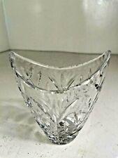 More details for vintage crystal cut glass vase