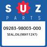 09283-98003-000 Suzuki Seal,oil(98x112x7) 0928398003000, New Genuine OEM Part