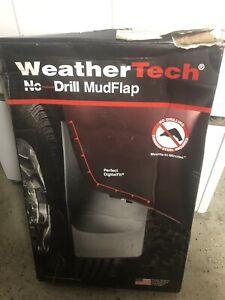 Weathertech 110033 Front MudFlaps Toyota Tacoma 05-15 4X4 w/OEM Fender Flares