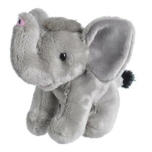 "Wild Republic Pocketkins Elephant 5"" Soft Plush Toy"