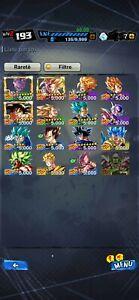 Big Dragon Ball Legends Account