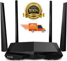 Tenda AC1200 Dual Band WiFi Router,High Speed Wireless Internet Router AC6