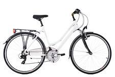 "Trekkingrad Damen 28"" Canterbury 21 Gang Weiß RH 54 cm Aluminiumrahmen 169T"
