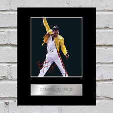 Freddie Mercury Signed  Photo Display Queen #2