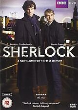 SHERLOCK BBC TV Series Complete Season 1 DVD Collection+Extras Original HOLMES