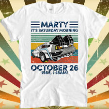 Marty Mcfly Doc Emmett Brown Back To The Future October 26 1985 T Shirt 3111