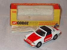 corgi PORSCHE TARGA 911S POLICE CAR - 509