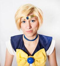 Sailor Uranus Smooth Blue Gem Metal Cosplay Tiara