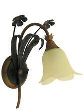 ISOTTA A1 applique classico rustico floreale verde oro DIAMANTLUX