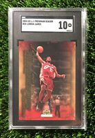 2004 Upper Deck Freshman Season LeBron James #20 SGC 10 GEM MINT (comp PSA 10?)