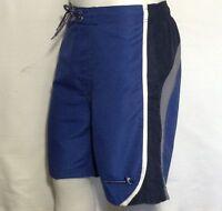 NWT Men's Shorts FREE COUNTRY Swim Shorts Swim trunk Board Shorts Navy Blue Gray