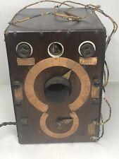 Antique Watt Test Electrical Steampunk Brass Converter (E) Scientific Equipm