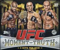 2011 Topps UFC Moment of Truth - Pick A Card