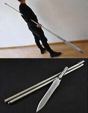 Soul Eater Sword spear pike lance High manganese steel blade Steel Handle #039