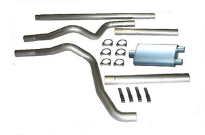Heartthrob 1024455 3 In. Cat-Back Dual Exhaust System for 1980-1996 Ford F150