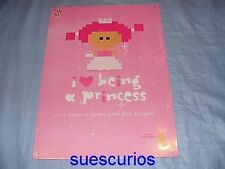 Tin Sign I Love Being A Princess Metal Sign Girls Present Birthday Gift