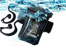 waterproof case/Cover+arm Belt+earphone for Iphone 4 4S SE 5 5S 5C 6  6S 6 plus
