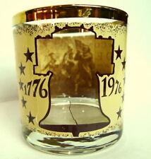 Spirit of 76  Bicentennial Highball Glass On The Rocks 1776  197