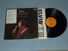 """1972 Elvis """"He Touched Me"""" Promo LP W/White Sticker (Very Clean)"""