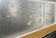 3D circles decorative glass clear window film static cling 5ft x3ft VViViD DIY