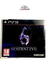 Resident Evil 6 EUR PS3 Promo Retro Playstation Videojuego Mint State Como Nuevo