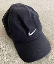 Nike Boys Black White Embroidered Swoosh Logo Infant Hat One Size