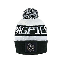 NEW Official Collingwood Magpies Bar Beanie