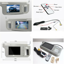 """7"""" Car Sunvisor Rear View Mirror Screen LCD HD Video Monitor for DVD/VCD/GPS/TV"""