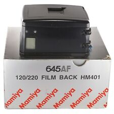 Mamiya film back 120/220 HM401 for 645AF 645AFD  II III / Boxed (TI1517)