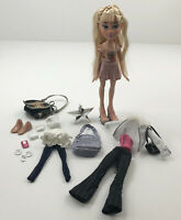 Bratz Xpress It Cloe Redressed with Extra Clothing and Accessories Lot