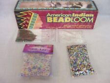DARICE AMERICAN INDIAN BEAD LOOM, EXTRA BEAD PACKAGES,INSTRUCTIONS