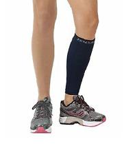 (1) Zensah Leg Sleeves, Shin Splint Running Compression Calf Sleeves-Black SX/S