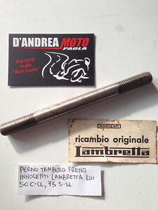 PERNO TAMBURO FRENO INNOCENTI LAMBRETTA LUI 50 C-CL/ 75 S-SL