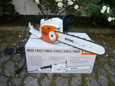 STIHL MSE 210 C-BQ Elektro Kettensäge Motorsäge Elektrosäge 35 cm + 1,3mm Kette