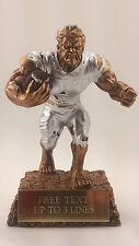 Fantasy Football Monster Resin Trophy. Hulk Award. Free engraving.