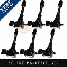 SET OF 6 PREMIUM IGNITION COILS FOR NISSAN ALTIMA MAXIMA 3.5 C1406 5C1403 UF349