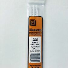 Plastruct Angle ABS 3//16 5 90005