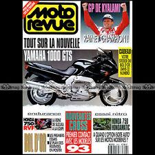 MOTO REVUE N°3053 HONDA CB 750 A 1976 YAMAHA 1000 GTS RDLC 350 TZ BOL D'OR 1992