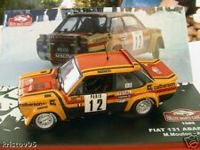 FIAT 131 ABARTH RALLYE MONTE CARLO 1980 MOUTON NEW 1/43