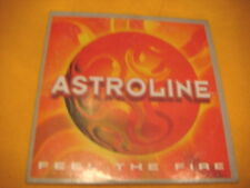 Cardsleeve Single CD ASTROLINE Feel The Fire 2TR 1998 eurodance