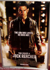 Jack Reacher Movie POSTER 11 X 17 In Deluxe Wood Frame Tom Cruise Rosamund Pike