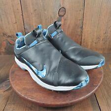 Nike Golf Tour Premiere Blue Camo Shoe Promo Sample Blue Black White Size 12 US
