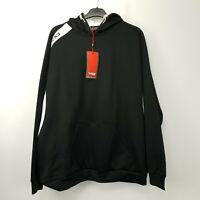 VX3 Veni Vidi Vici Mens  Hoodie Training Sweatshirt Pullover 2XL Black Polyester
