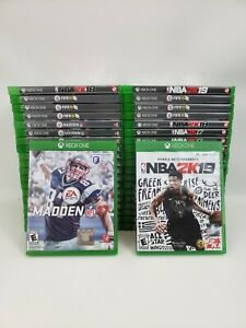 XBOX ONE GAMES - HUGE SELECTION - PRE-OWNED - FREE SHIPPING - BUNDLE & SAVE