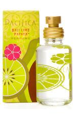 NIB New Pacifica Bali Lime Papaya Vegan Non-Synthetic All Natural Perfume Spray