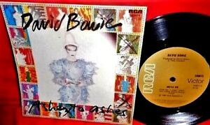 """DAVID BOWIE Ashes to ashes/Move on 7"""" 45rpm PS 1980 AUSTRALIA MINT-"""