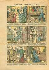 Famille Femme Catholique Franc-maçonnerie Communisme FM France 1925 ILLUSTRATION