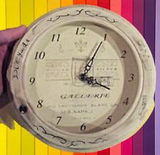 Ancienne Pendule horloge style vintage cuisine galerie sauvignon à accrocher