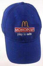 Mcdonalds Monopoly Play to Win 2012 Strapback Adjustable Cap Hat